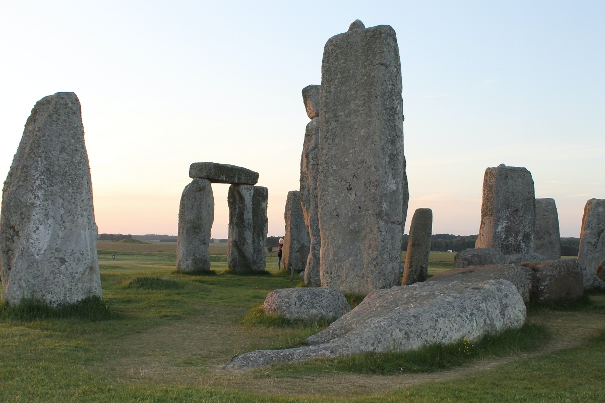 Privater Besuch in Stonehenge