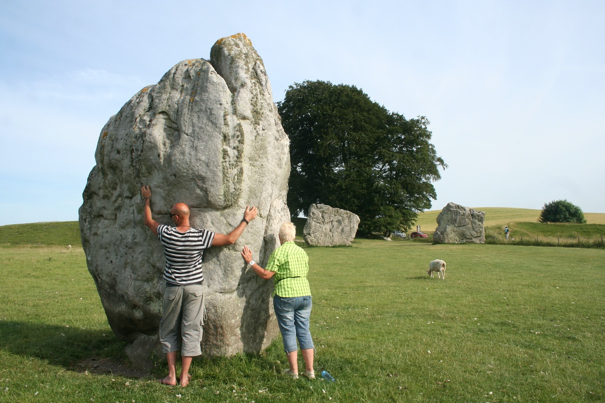 Megalithen in Avebury