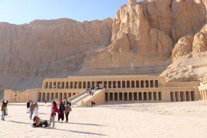 Der Tempel Hatschepsut in Ägypten