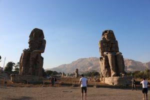Memnon Kolosse Ägypten