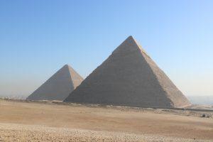 Die großen Pyramiden von Ägypten