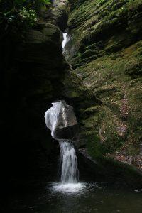 St. Nectans Glen Wasserfall in Cornwall