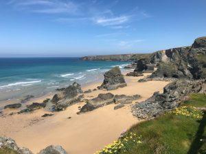 Die Bedruthan Steps in Cornwall