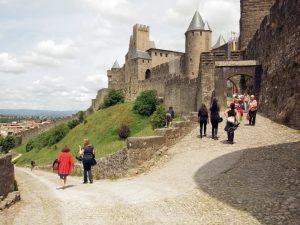 Carcassonne - mittelalterliche Festung der Kartharer