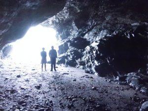 Merlins Cave in Tintagel