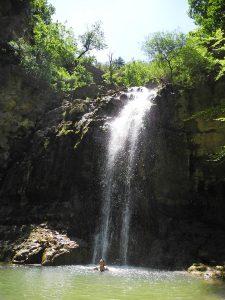 Wasserfalle und heilige Quellen in Frankreich