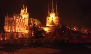 Der Erfurter Dom auf einem viel älteren Ort