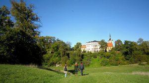 Der Park beim Schloss Ettersburg
