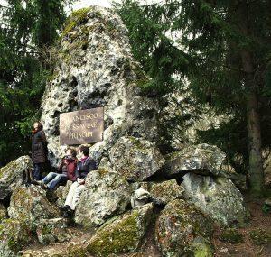 Der Schlosspark in Weimar