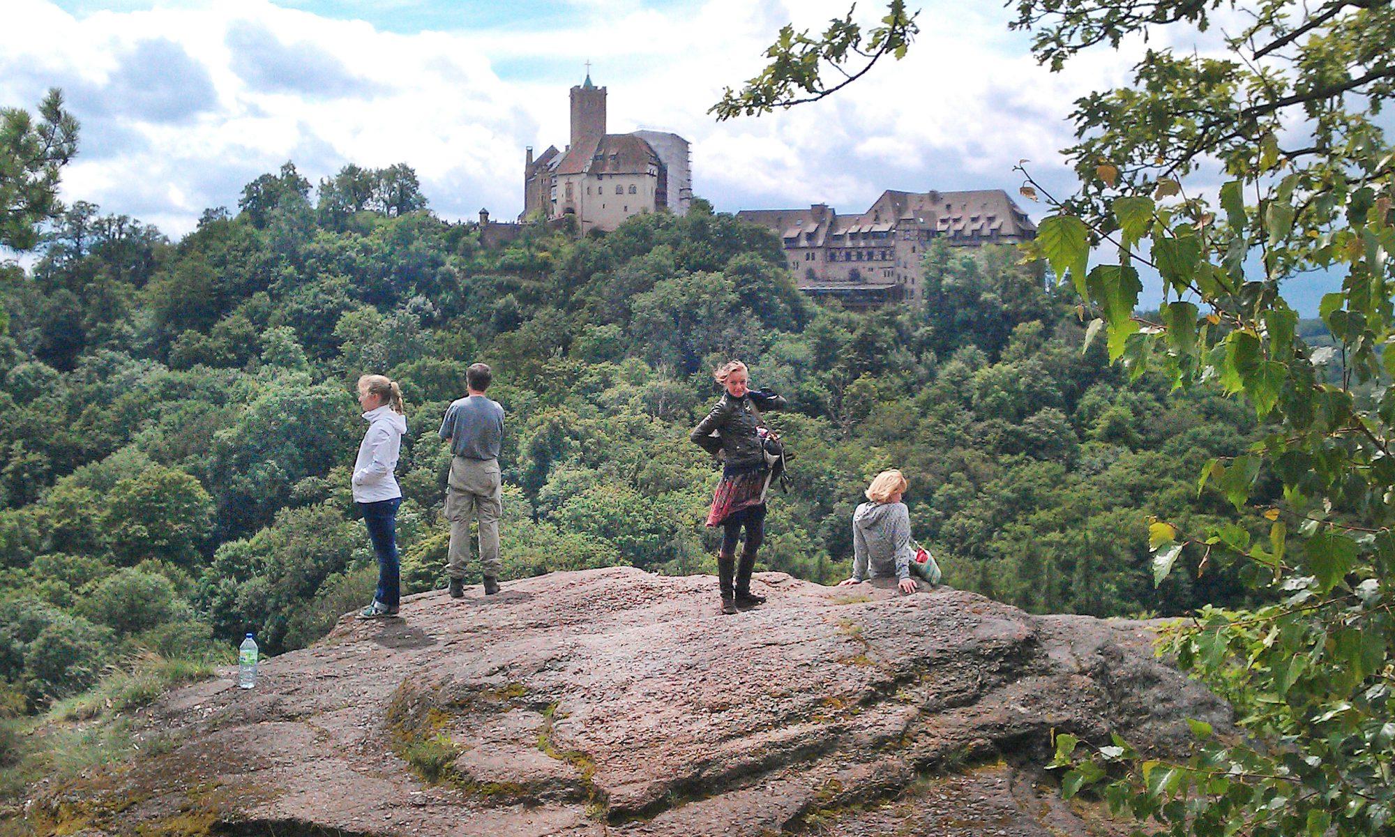 Alte Kultstätte - die Wartburg